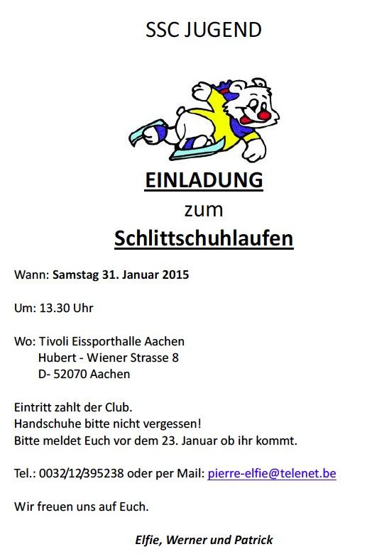 Schlittschuhlaufen 2015 | Schwammenaueler Segler-Club am ...